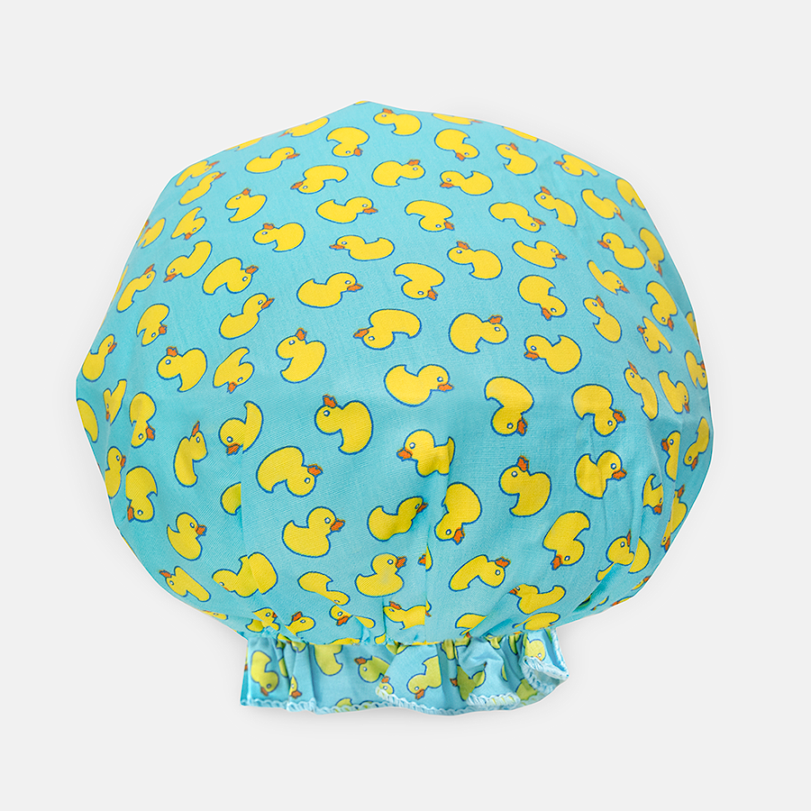 BOUFFANT SHOWER CAP - DUCKIES