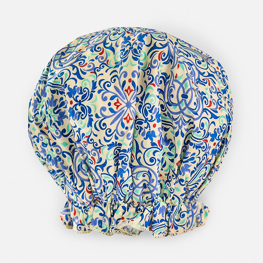 Bouffant Shower Cap - Moroccan