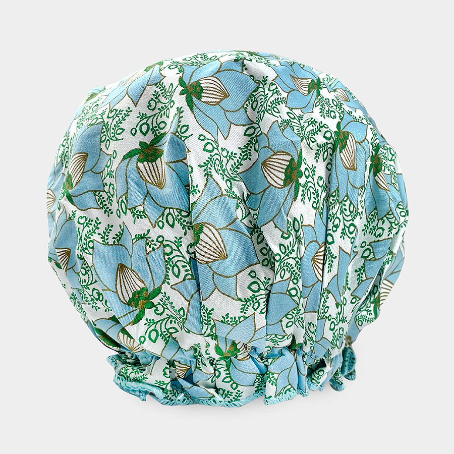 Bouffant Shower Cap - Lotus