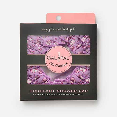 Gal Pal Bouffant Shower Cap - Cupcakes