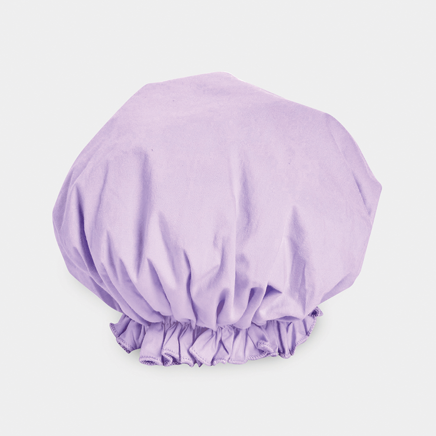 BOUFFANT SHOWER CAP - LAVENDER