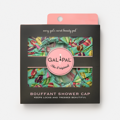 Gal Pal Bouffant Shower Cap - Macaroons