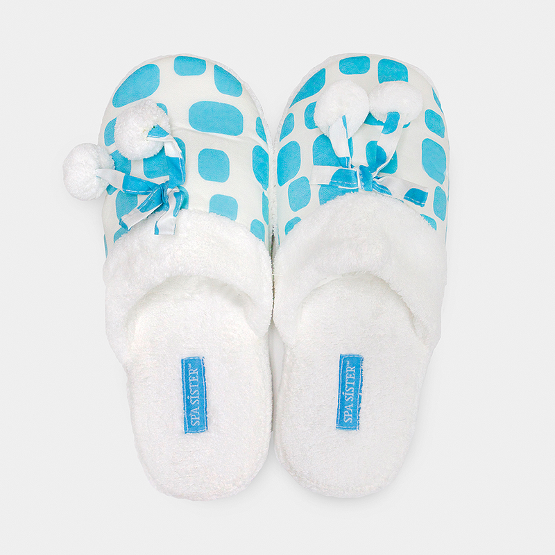 Cheers Spa Slippers - Blue Ice