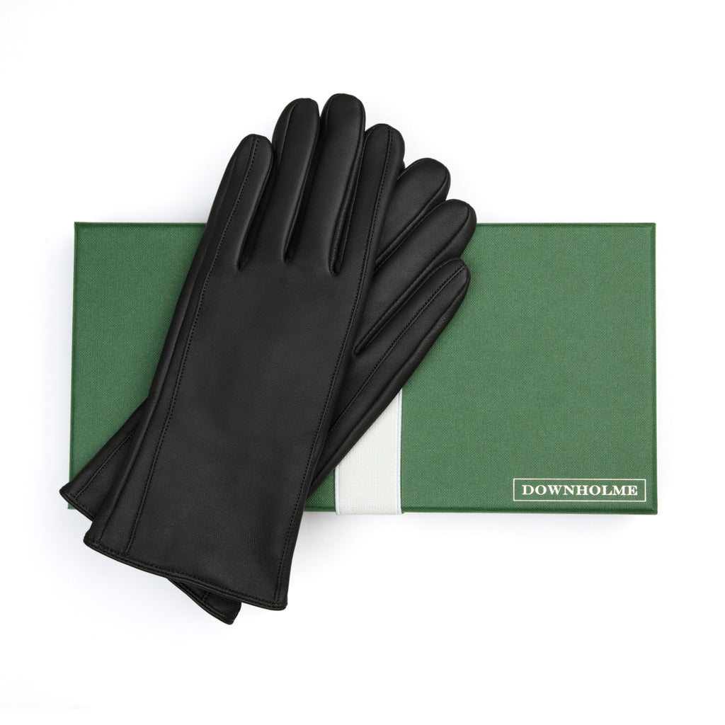 Women's Vegan Leather Gloves - Black, DH-VLW-BLKS, DH-VLW-BLKM, DH-VLW-BLKL, DH-VLW-BLKXL