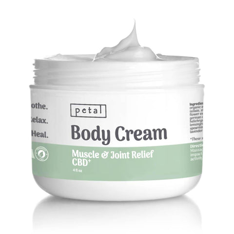 1,000mg CBD Body Cream - Muscle & Joint Pain Relief