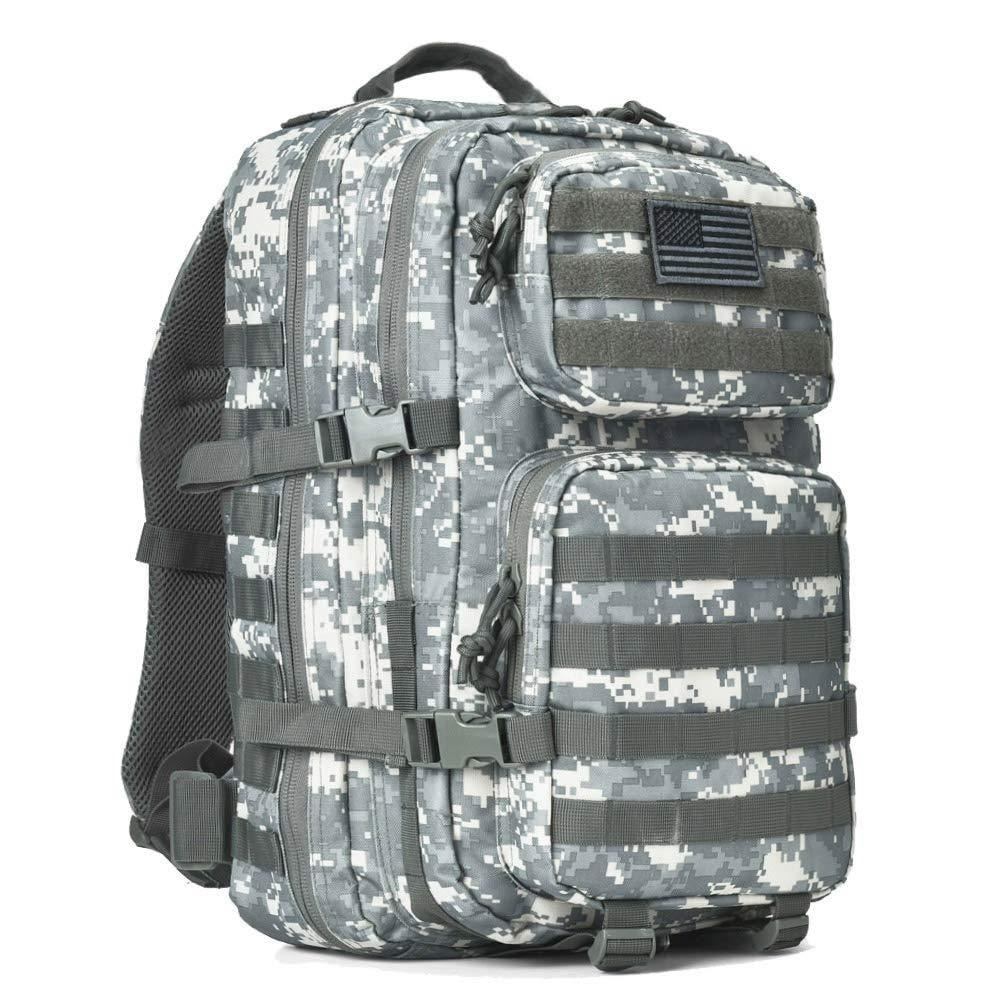 BOW-TAC tactical backpacks - Acu camo 40L tactical backpack - Main view