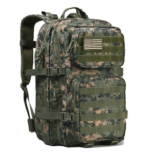 BOW-TAC tactical backpacks - Woodland 40L tactical backpack - Main view