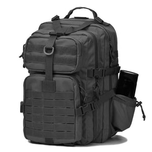 BOW-TAC tactical backpacks - Black 34L molle bug out backpack - Main view