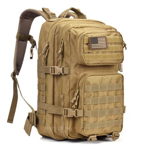 BOW-TAC tactical backpacks - Coyote brown 40L tactical backpack - Main view