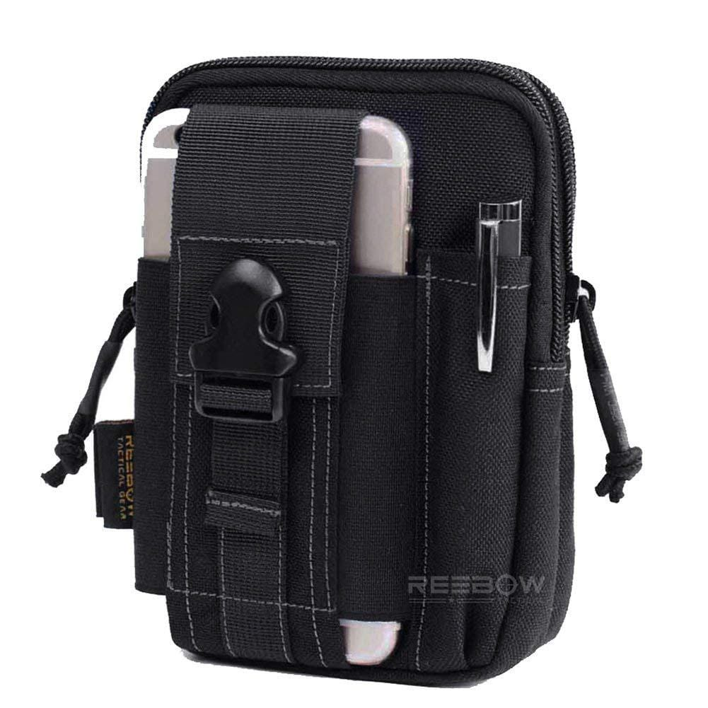 BOW-TAC tactical bags - Black edc pouch - Main view