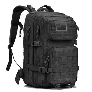 BOW-TAC tactical backpacks - Black 40L tactical backpack - Main view