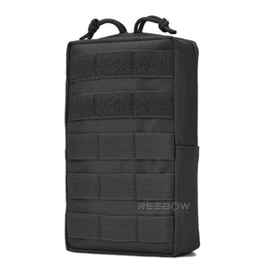 BOW-TAC tactical bags - Black tactical molle pouch - Main view