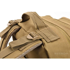 BOW-TAC tactical backpacks - Coyote brown 40L tactical backpack - Details