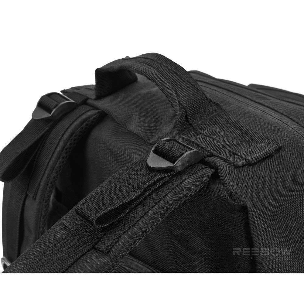 BOW-TAC tactical backpacks - Black 40L tactical backpack - Strip detail