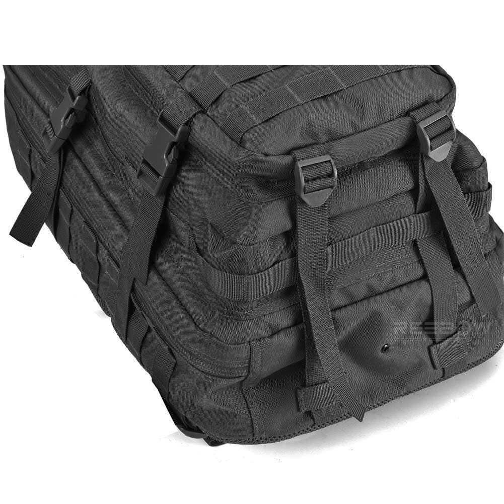 BOW-TAC tactical backpacks - Black 40L tactical backpack - Bottom detail