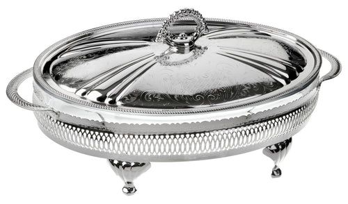 Medium Oval Casserole-Lid