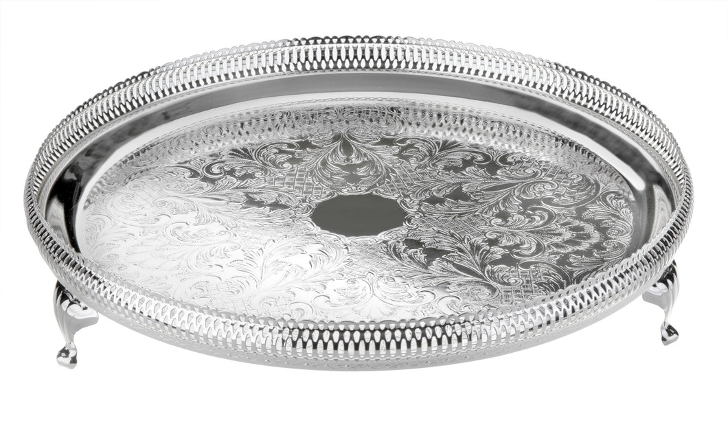 36 cm Round Gallery Tray