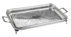 Large Oblong Gallery Tray-Handles