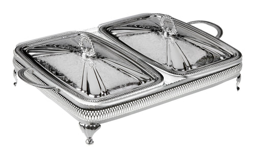 Double Oblong Casserole-Lids