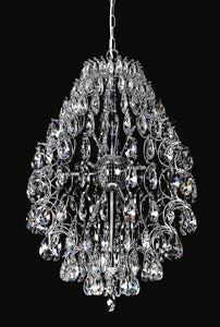 9 Light  Chandelier with Chrome finish