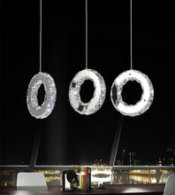 Load image into Gallery viewer, LED Multi Light Pendant with Chrome finish