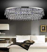 Load image into Gallery viewer, 10 Light  Flush Mount with Chrome finish