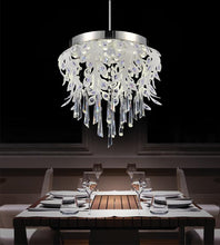 Load image into Gallery viewer, LED Down Chandelier with Chrome finish
