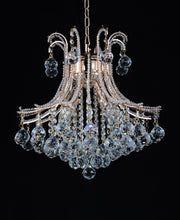 Load image into Gallery viewer, 4 Light Down Chandelier with Chrome finish