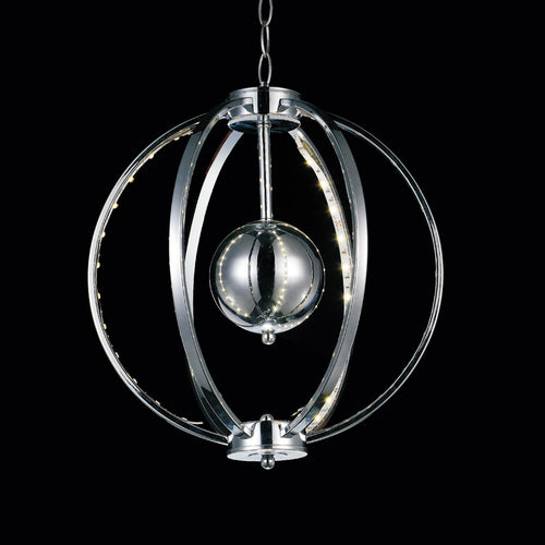 LED  Mini Pendant with Chrome finish