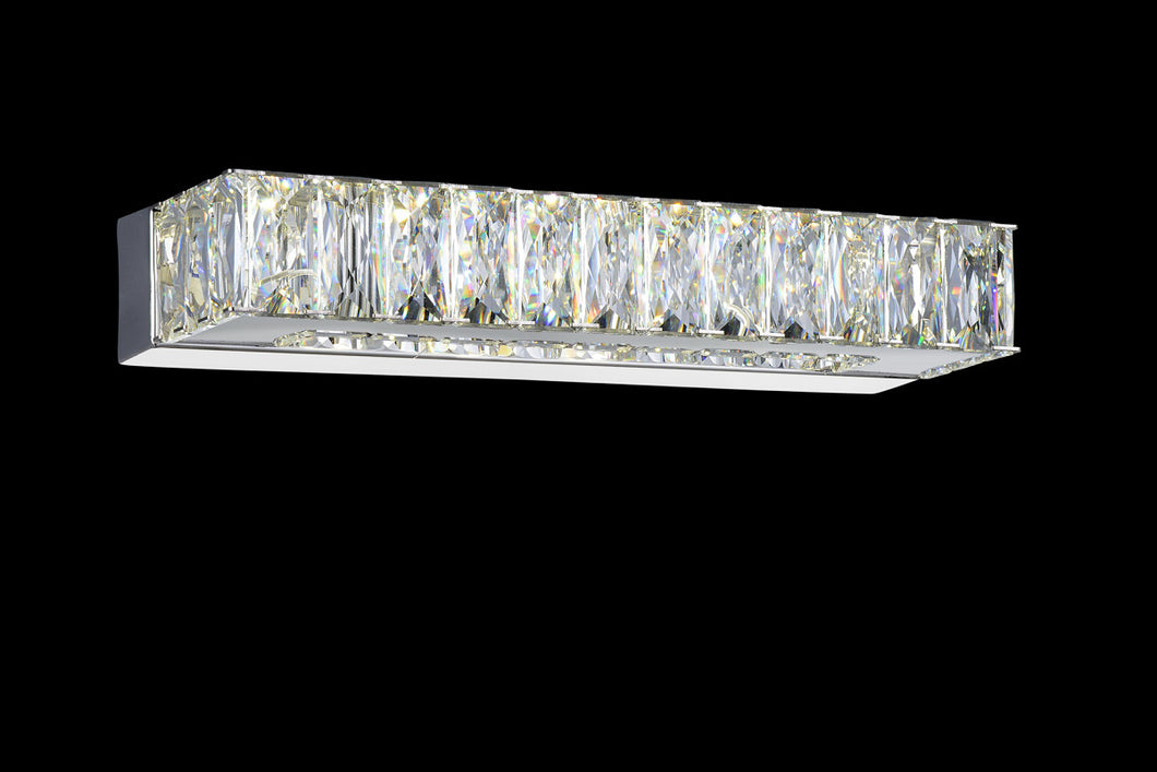 LED Vanity Light with Chrome finish