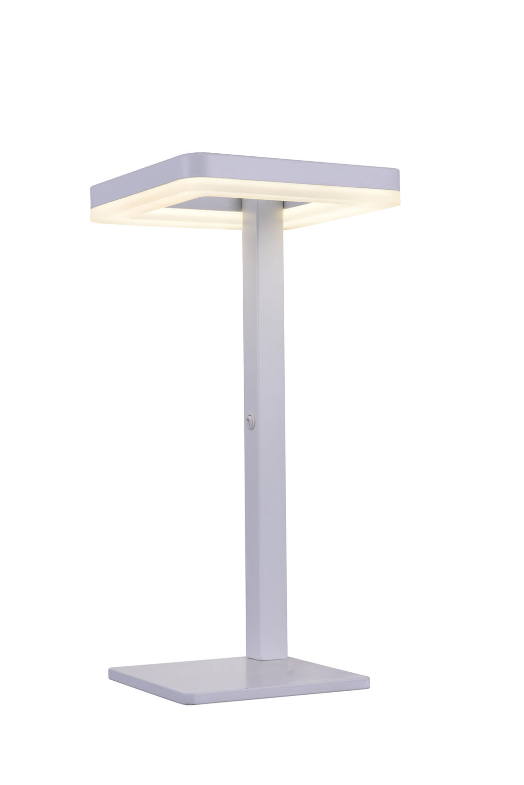 LED Table Lamp with Matte White finish