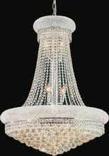 Load image into Gallery viewer, 18 Light Down Chandelier with Chrome finish