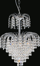 Load image into Gallery viewer, 7 Light  Chandelier with Chrome finish
