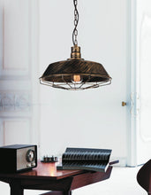 Load image into Gallery viewer, 1 Light Down Mini Pendant with Antique Copper finish