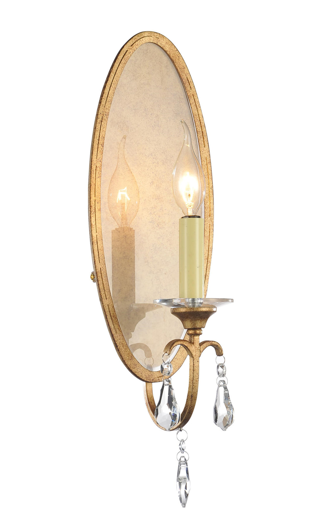1 Light Wall Sconce with Oxidized Bronze finish