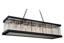 Load image into Gallery viewer, 14 Light  Chandelier with Black finish