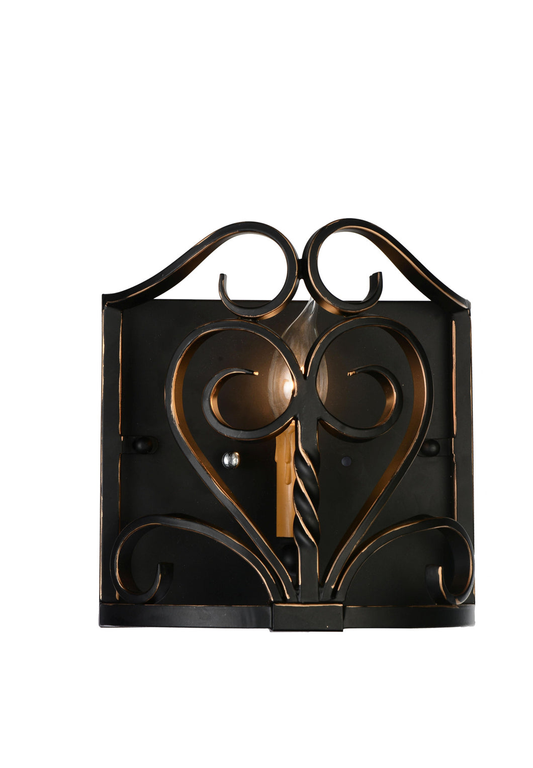 1 Light Wall Sconce with Autumn Bronze finish