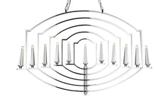 Load image into Gallery viewer, 11 Light Up Chandelier with Chrome finish