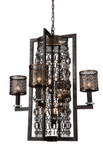 Load image into Gallery viewer, 8 Light Up Chandelier with Golden Bronze finish