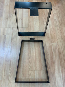 TABLE LEGS - D SHAPE