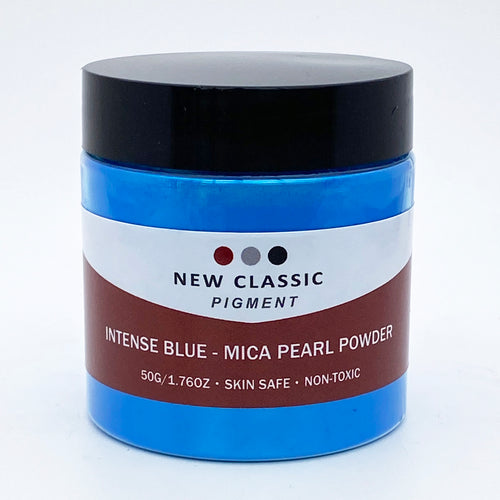 Intense Blue Mica Powder for Epoxy Resin 50 Grams