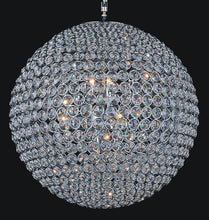 Load image into Gallery viewer, 20 Light  Chandelier with Chrome finish