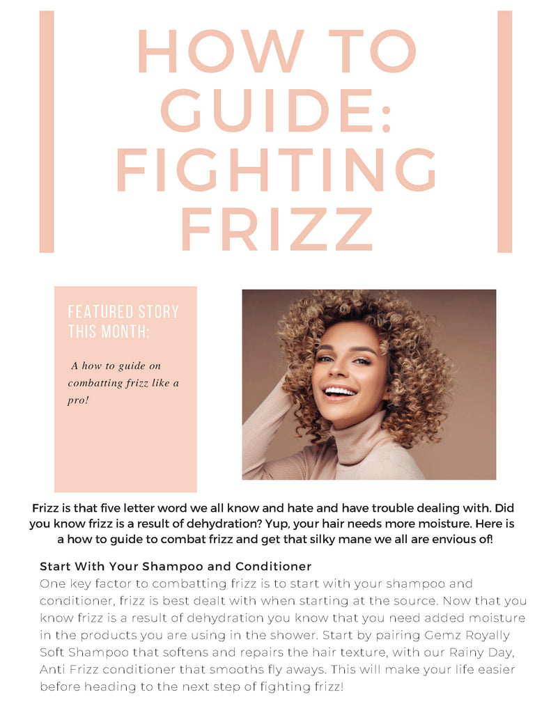 Fighting Frizz Guide 1