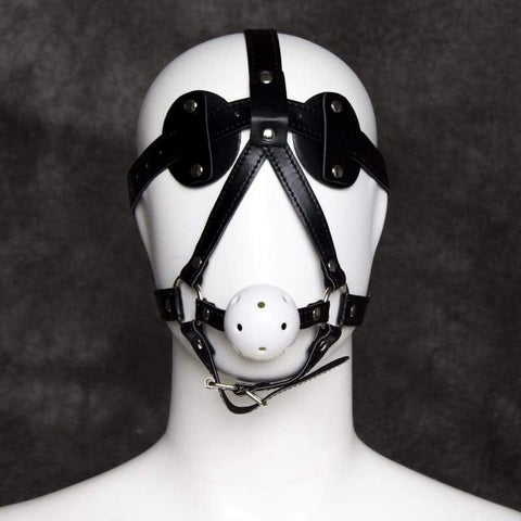 Head Harness w/Ball Gag Couples