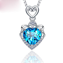 Load image into Gallery viewer, Sterling Silver Heart Necklace