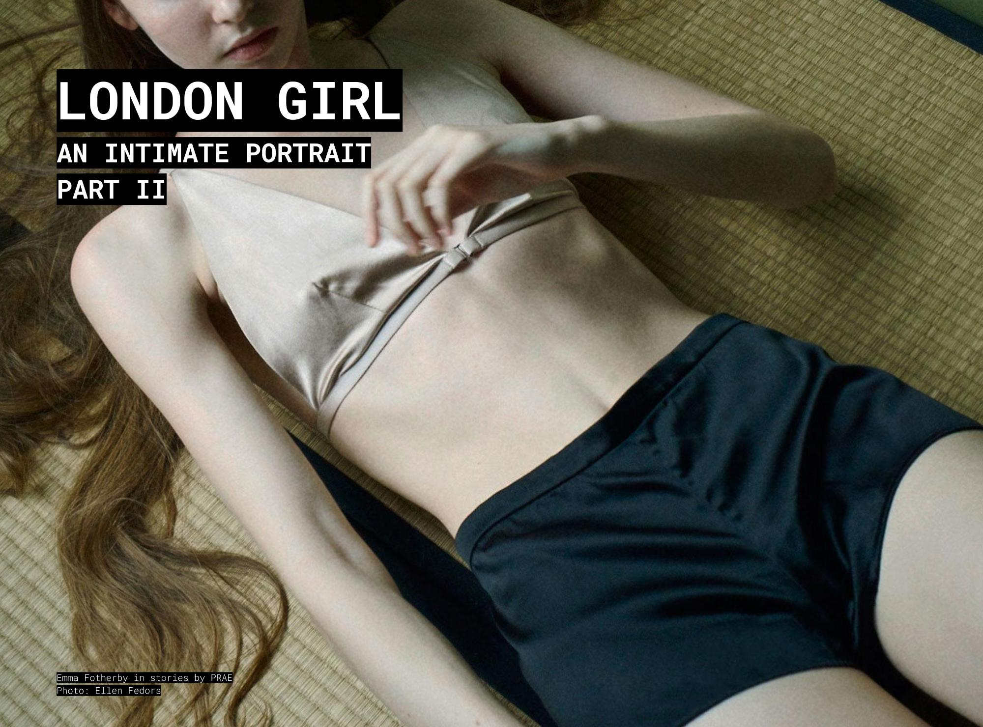 PRAE NYC STORIES: London Girl Part 2, Emma Fotherby by Ellen Fedors