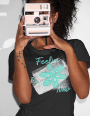 """Feelin Icy Now"" Unisex Jersey Tee"
