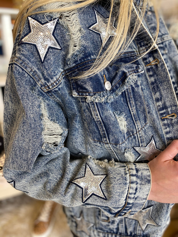 The Brooklyn Star Sequin Jacket