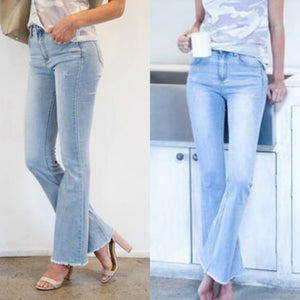 Emily Fringe Washed Denim