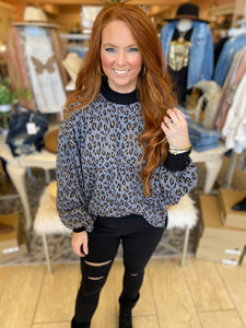 Glam Leopard Top